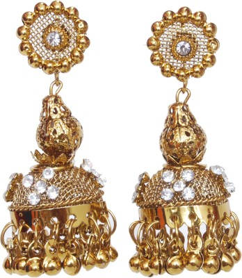 NM Products Coppper Alloy Jhumki Earring