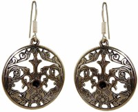 Saffron Craft Silver Collections Alloy Chandbali Earring best price on Flipkart @ Rs. 268