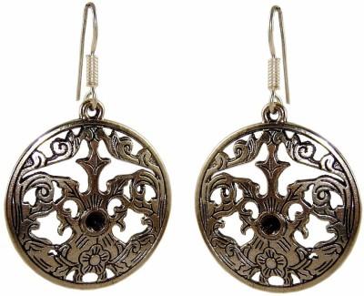 Saffron Craft Silver Collections Alloy Chandbali Earring