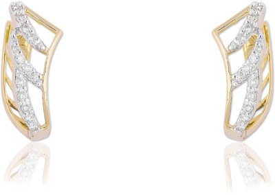 Jewels Choice Traditional Diamond Gold Stud Earring