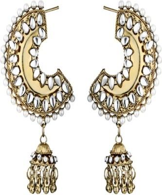 Foxy Beautiful Alloy Jhumki Earring