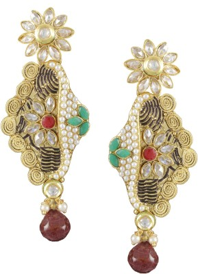 Karatcart Traditional Copper Drop Earring