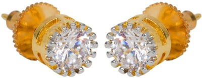 Subh Princees Delight Brass Stud Earring