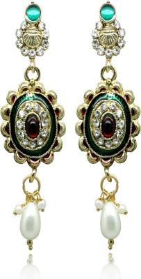 Ada Jewel Dangling Alloy Chandelier Earring