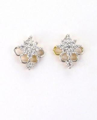 Craftswale Cubic Zirconia Alloy Stud Earring
