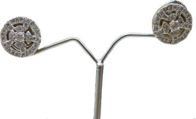 Aakhya EAR29W Diamond Rose Gold Drop Earring