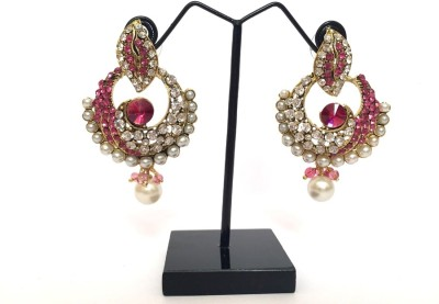 Jewelankar Antique Alloy Chandelier Earring