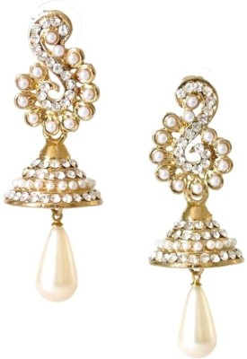 Fashionography The Madhubala Alloy Jhumki Earring