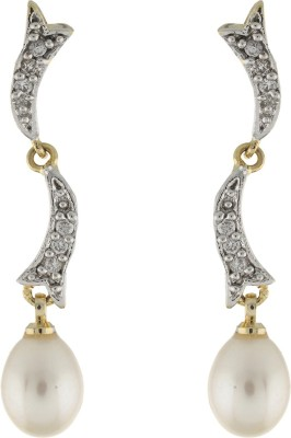 Classique DesignerJewellery Stylish Pearl Alloy Dangle Earring