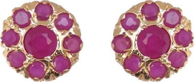Janki Jewellers Ethnic Cubic Zirconia Alloy Stud Earring