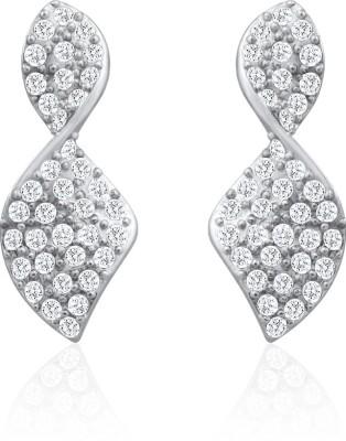 Oviya Brilliant Art Crystal Alloy, Brass Dangle Earring