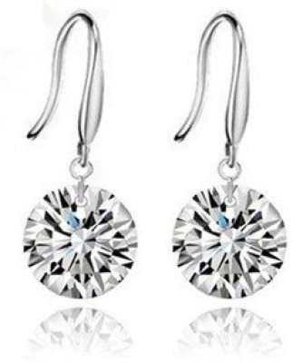 Wearyourfashion Naked Drill Austrian Crystal Alloy Dangle Earring