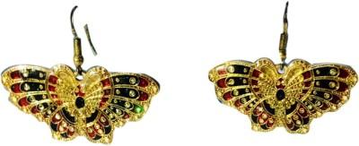 Alak Dream Girl Brass Dangle Earring