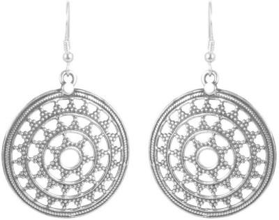 VelvetCase Fine Silver Dangler Earring Silver Stud Earring