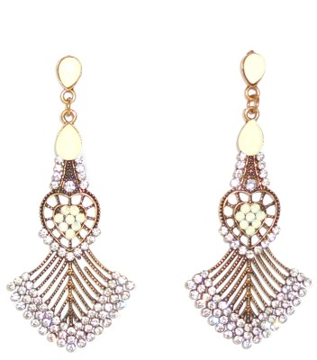 Adimani Estofa Alloy Chandelier Earring
