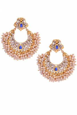 Rubena CZ Alloy Chandbali Earring