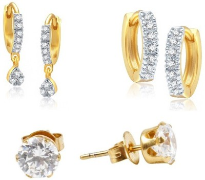 Jewels Galaxy Precious Collection JGR549 Alloy Earring Set