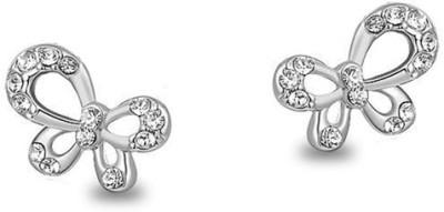 Silver Shoppee Designer Cubic Zirconia Alloy Stud Earring