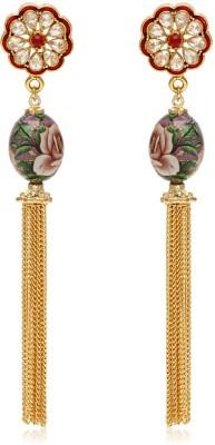 Jewels Galaxy Premium Luxuria ER527 Alloy Dangle Earring