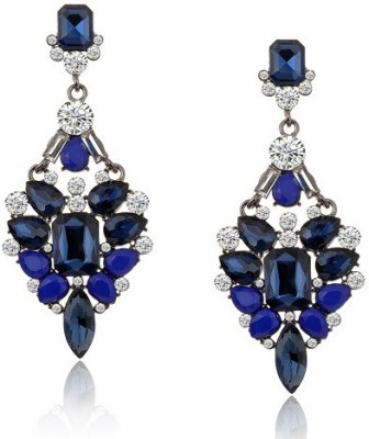 The Sparkle Connection Bluebell Crystal Acrylic Chandelier Earring