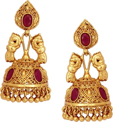 SthriElite Festivals Collection Alloy Jhumki Earring