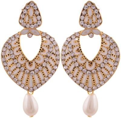 Grandiose Plate Earring Copper Dangle Earring
