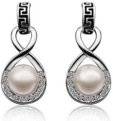 Allure Pearl Alloy Stud Earring
