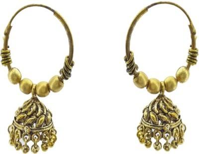 Gurjari GODBALI Brass Jhumki Earring