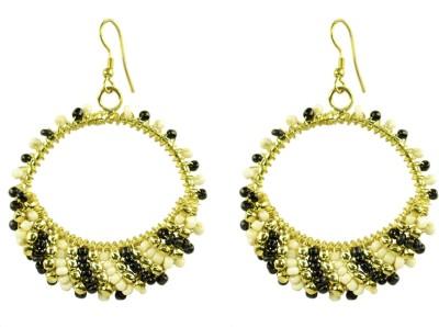 Suvini Color Spark Alloy Chandbali Earring