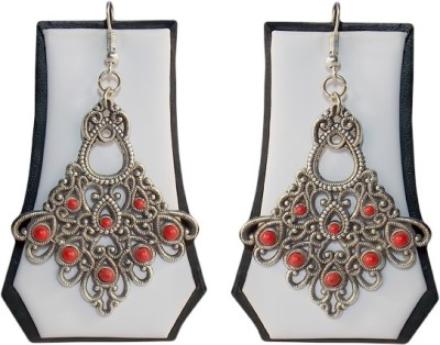Simbright antikm1 German Silver Dangle Earring
