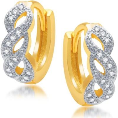 Sukkhi Marvellous Micro Pave Cubic Zirconia Alloy Hoop Earring