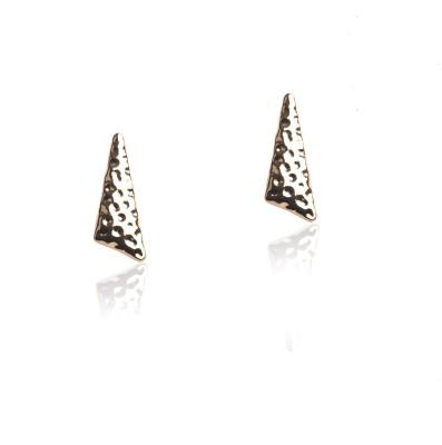 Celestia Eclat Gold Stud Earring Alloy Stud Earring