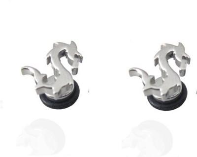Vaishnavi KvaishnavibrownyradhFirst Quality korean Made Non-Allergic Dragon Design 316L Stainless Steel Stud Earring
