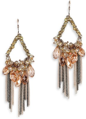 Pout ER 1248a Brass Dangle Earring