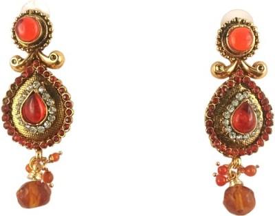 Ratnaraj India American Diamond Alloy Drop Earring