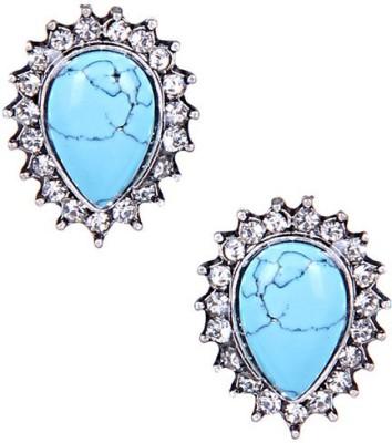 CHKOKKO Spring Sparkle Alloy Stud Earring