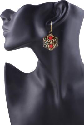 Arittra Beautiful Cut Earring Brass Dangle Earring