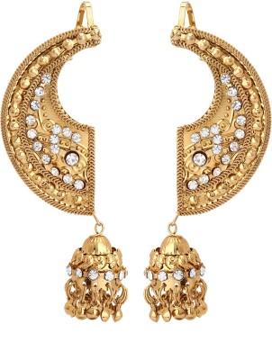 Fashionista Gurl Fashionable Zircon Bronze Cuff Earring