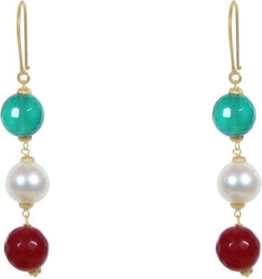Valentina Princess Delight Pearl Gold Dangle Earring
