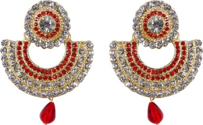 Grand Jewels Chand Style Alloy Drop Earring