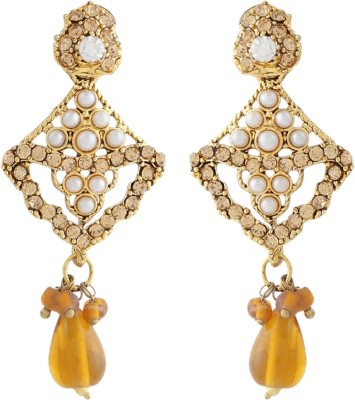 Jewels and Deals FE-169 Brass Drop Earring