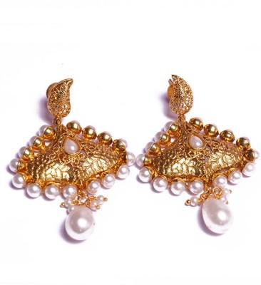 PFJ PFJ3006 Brass, Copper Drop Earring