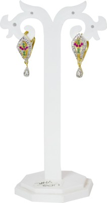 Jewelgrab Sai-Adr-Droplet 2 Alloy Drop Earring