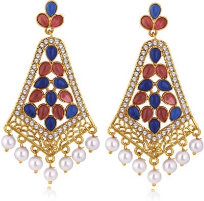 Alamod ALER 5094 Brass Chandelier Earring