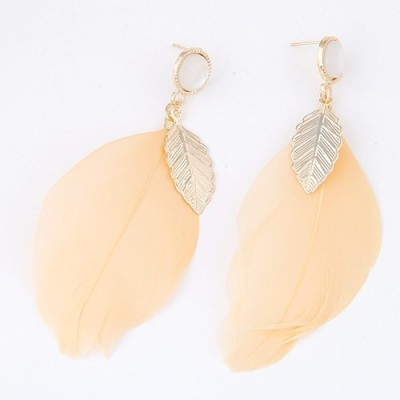 justfashionspirit Peach Passion Alloy Drop Earring