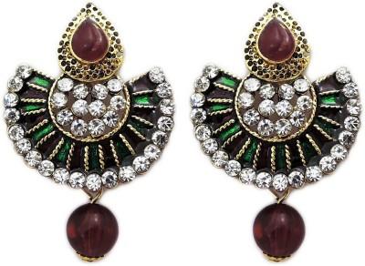 Aura Collection Designer Alloy Drop Earring