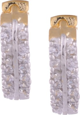Young & Forever Divalacious Bali Alloy, Crystal Clip-on Earring