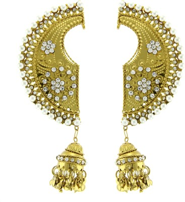 Kaizer Jewelry Sparkle Shining Diva Alloy Cuff Earring