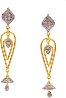 Gehnamart Dazzling Bell Alloy Dangle Earring