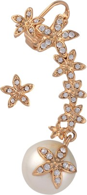 Sanaya Collection Wedding & Engagement Metal Cuff Earring
